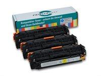 PrinterCare Tonerpaket - PC-CLJCP1525-CMY