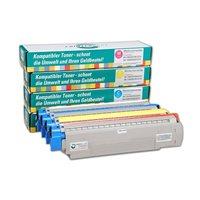 PrinterCare Tonerpaket - C8600/8800-CMYBK