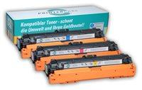 PrinterCare Tonerpaket CMY - PC-CLJCP5225-CMY