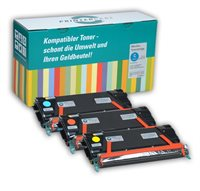 PrinterCare Tonerpaket CMY PC-C734-CMY
