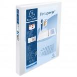 Ringbuch aus festem PP 1,9mm, 2 Ringe 30mm in D-Form, Rücken 47mm Rücken und 3 Außen- und 2 Innenhüllen, 32x27,7cm für DIN A4 Überbreite - Kreacover