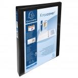 Ringbuch aus festem PP 1,9mm, 4 Ringe 15mm in D-Form, Rücken 38mm Rücken, 3 Außen- und 2 Innenhüllen, 32x27,3cm für DIN A4 Überbreite - Kreacover