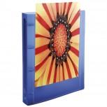 Ringbuch aus PP 500µ, 4 Ringe 15mm, Rücken 20mm, blickdicht, 32x25cm für DIN A4 - Kreacover