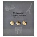 Sammelalbum - 50 Souvenir-Medaillen
