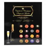 Sammelalbum für 64 Champagner-Kapseln