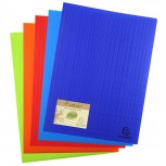 Sichtmappe aus festem Recycling- PP 700µ, 40 Hüllen, für Format DIN A4 - Forever