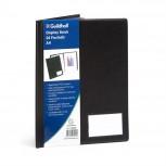Sichtmappe mit Deckel aus PVC 1,4mm, 24 Hüllen, Guildhall, für Format DIN A4