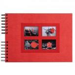 Spiralalbum 50 schwarzen Seiten Passion - 32x22 cm