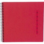 Spiralalbum Design, 50 Seiten, 32x22cm