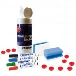 Starter-Set für Magnettafel, Schreib- und Rastertafeln