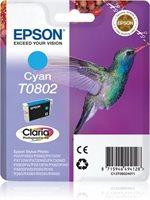 T0802 - cyan - Original - Blisterverpackung - Tint