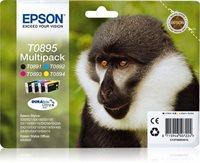 T0895 Multipack - schwarz, gelb, cyan, magenta - O