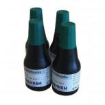 Tinte, Tusche für Marker, Tafelschreiber + JumboMarker, 100 ml, grün, 4x 25 ml