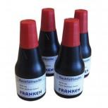 Tinte, Tusche für Marker, Tafelschreiber + JumboMarker, 100 ml, rot, 4x 25 ml