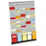 T-Kartentafel OfficePlaner, 31,5 x 49 cm, 5, 20 Stück