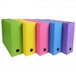 Transferbox, Rücken 90mm, 25x33cm für DIN A4+ - Salsa