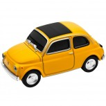 "USB-Stick ""Fiat 500"" Oldtimer, gelb Speicherstick: 16GB"