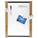 Whiteboard, inkl. Stifte, Magnete, Pinnadeln, 45 cm x 60 cm